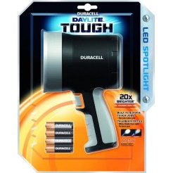 Duracell Daylite Tough LED Spotlight Zwart
